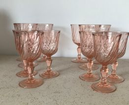 Série de 12 verres