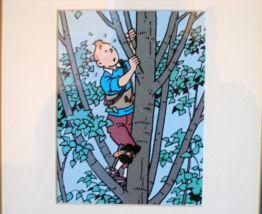 Lithographie Tintin