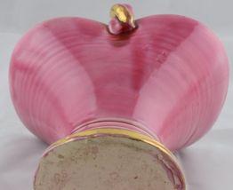 Panier rose en céramique de Louviers