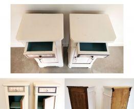 2 tables de chevet anciennes
