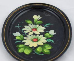 Mini plateau ovale peint main
