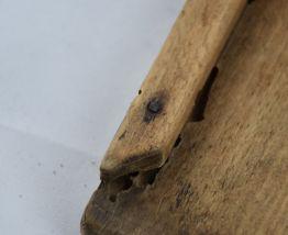 Râpe mandoline ancienne en bois