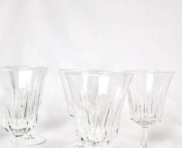 6 verres à pied