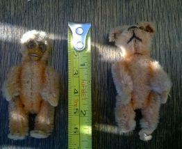 Peluches articulées miniature