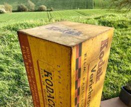 Borne publicitaire Kodak