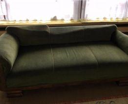 Canapé vintage origine Alsace