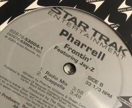 Vinyle 33 tours, Pharrell & Jay-Z «Frontin »