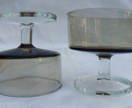 Lot 5 coupes luminarc vintage