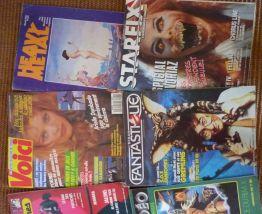lot de 7 magazines heavy metal mad movies starfix