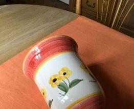 Grand vase floral