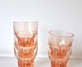 5 verres rosés