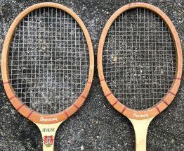 raquettes en bois