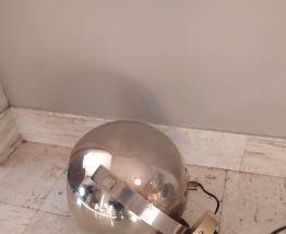 Paire applique ou lampe eyesball doré année 60- 70 vintage