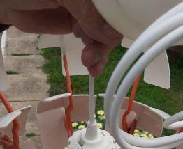 Lampe boule mappemonde