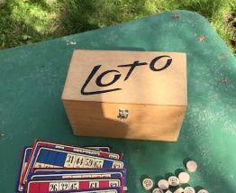 Ancien jeu de loto