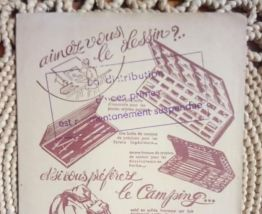 """Ancien protège cahier publicitaire """"Les chocolats de Royat"""""""