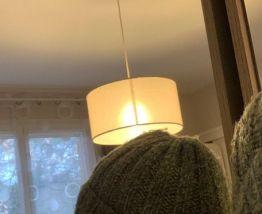 Bonnet de laine vert chiné unisexe