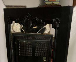 Grand miroir ancien années 40/50 relooké