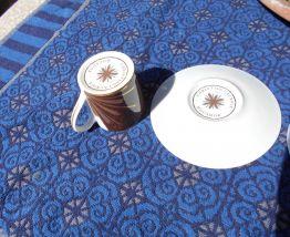 SERVICE A CAFE 2 TASSES CHRISTIAN LACROIX MOCADOR NEUF