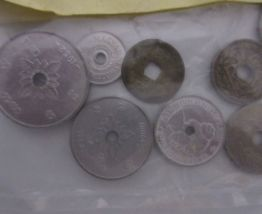 Sachet de 10 pièces de monnaie percées