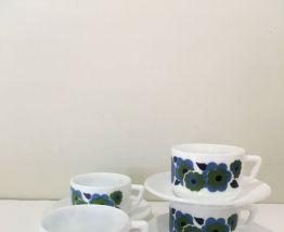 Lot de 4 tasses Arcopal Lotus