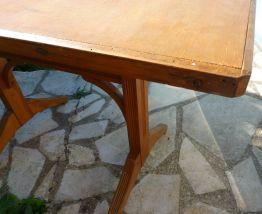 Table café/bistrot rectangulaire vintage années 30