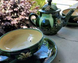 1930-Tasses anciennes Chamonix Edelweiss