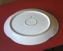 Joli plat oval vintage  Limoges
