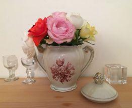 Sucrier en Porcelaine de L'Ancienne Fabrique Royale Limoges