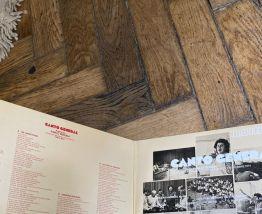 Vinyle vintage cantate de Minis Theodorakis sur le poème de