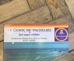 Vinyle vintage Le Canon de Pachelbel