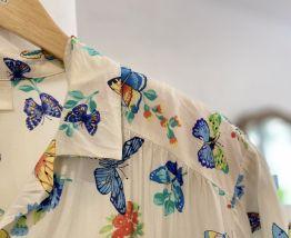 Chemise vintage à motif