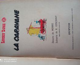 LUCKY LUKE la caravane 1964 Dupuis
