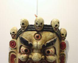 Ancien Masque Tibetain