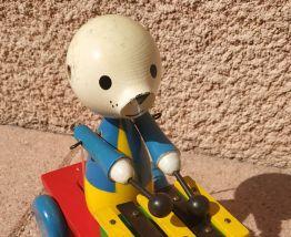 Ancien jouet en bois
