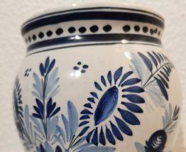 Vase H Quimper, 18 cm