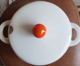 Soupière/légumier  vintage Bavaria -  Fleurs orange