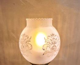 petite lampe  marbre art deco 25x15  electrectricite refait
