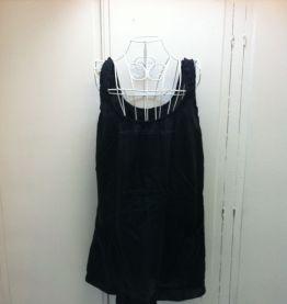 Robe d'été noire taille S