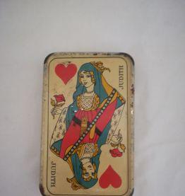 Boîte à cartes publicitaire Suze