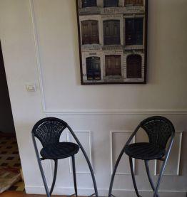 Deux tabourets de bar Philippe Starck