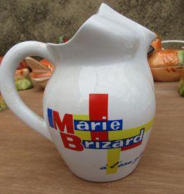 Broc, pichet, Marie Brizard à l'eau glacé, Digoin / Sarregue
