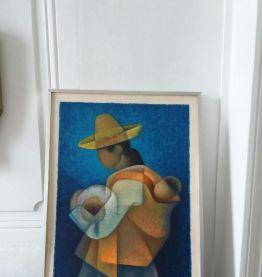Lithographie originale Louis TOFFOLI