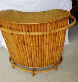 Vintage bar bamboo 1950s 1960