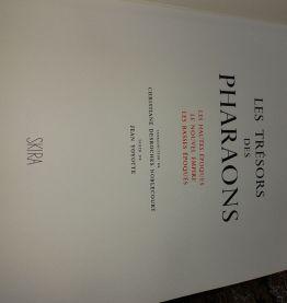 Livre trésors des pharaons