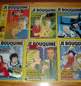Lot de 15 revues Je Bouquine des années 80