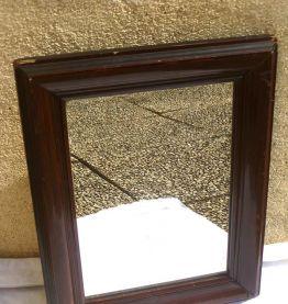 miroir  ancien , vintage