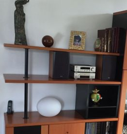 meuble salon/ TV vintage années 80