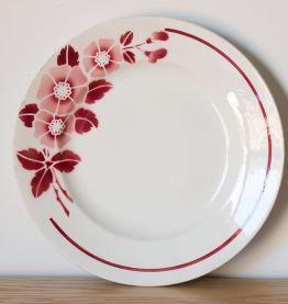 10 assiettes plates anciennes