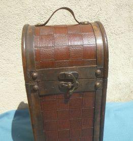 porte  bouteille  ancien  en  bois